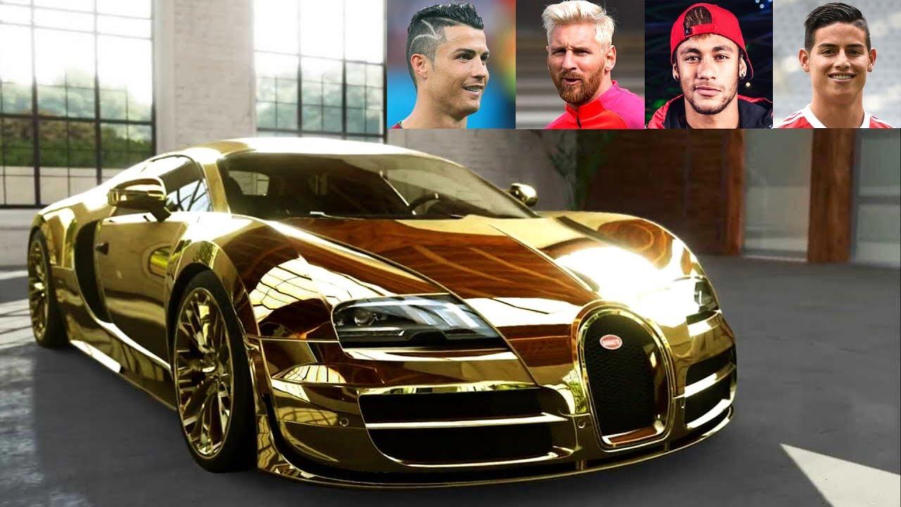 Топ 10 автомобили на славните фудбалери КАРАМБОЛ / ВИДЕО