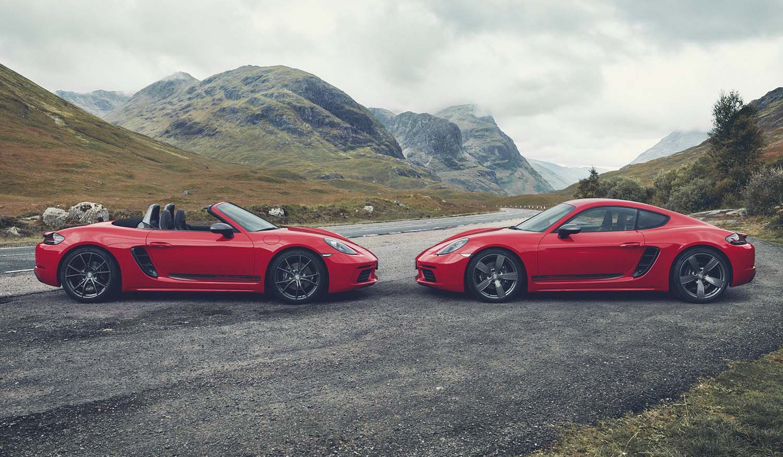 Светска премиера за Porsche 718 T Boxster и Cayman / ВИДЕО