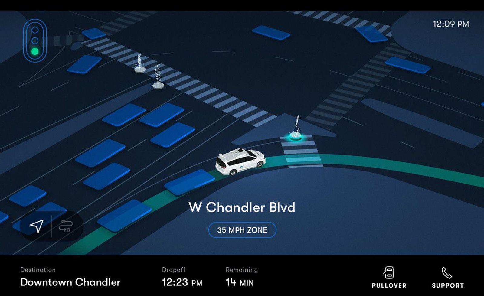 Иднината е тука! Стартуваше првиот роботски такси сервис / ВИДЕО