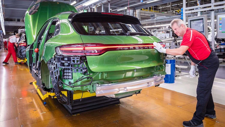 Како се произведуваат Porsche Macan и Panamera / ВИДЕО
