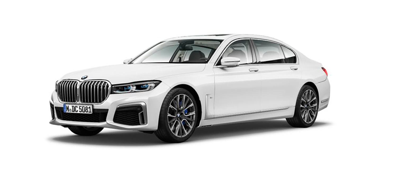 Протекоа фотографии од рестилизираната BMW Серија 7 (2020)