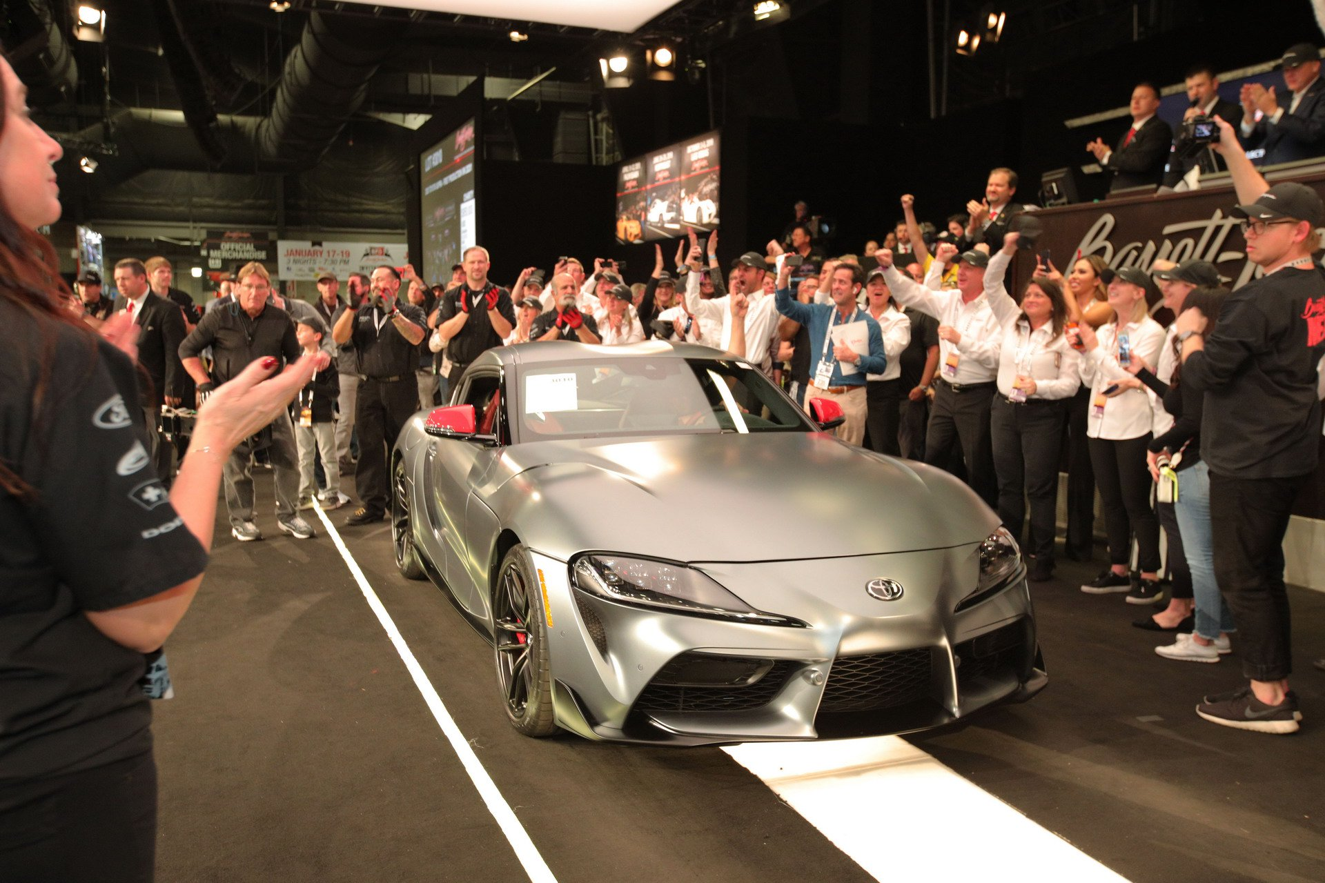 Фантастична цена за првиот примерок од новата Toyota Supra / ВИДЕО