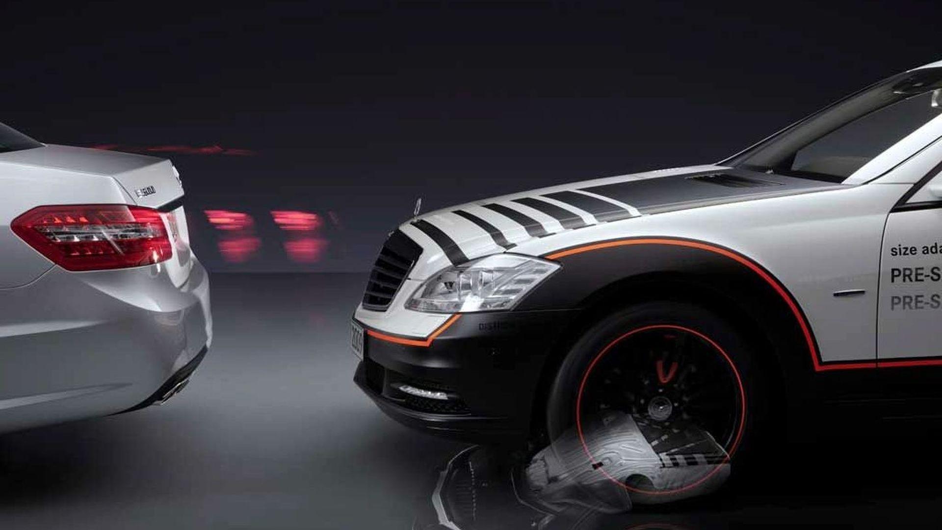 Mercedes подготвува автомобил со кој судирот ќе биде невозможен