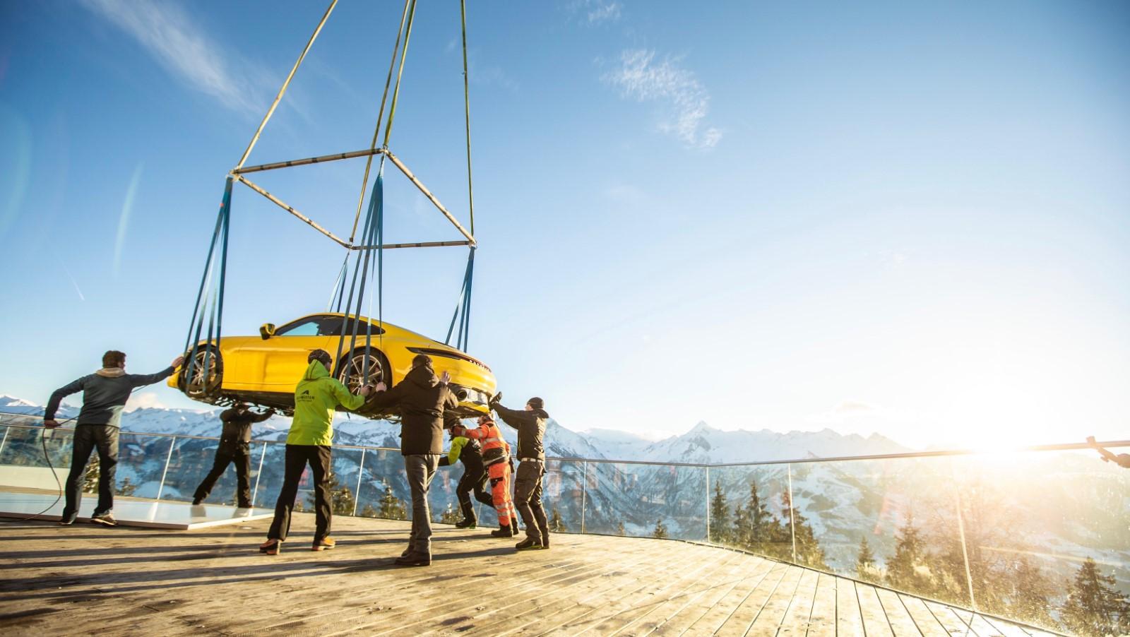 Новиот Porsche 911 спектакуларно претставен на Алпите / ФОТО+ВИДЕО