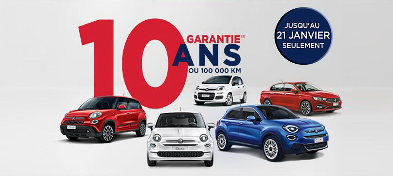 Fiat во Франција одобрува десетгодишна гаранција на целата гама
