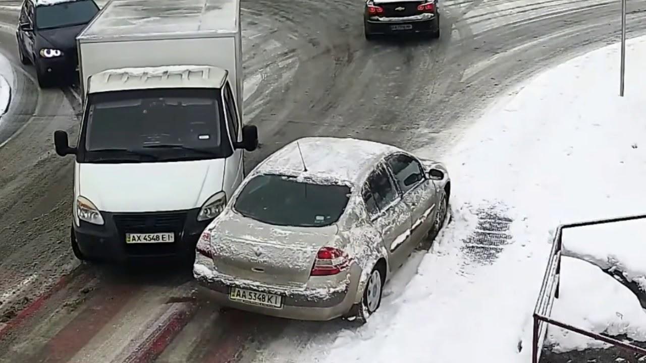 Внимавајте на снегот! КАРАМБОЛ / ВИДЕО