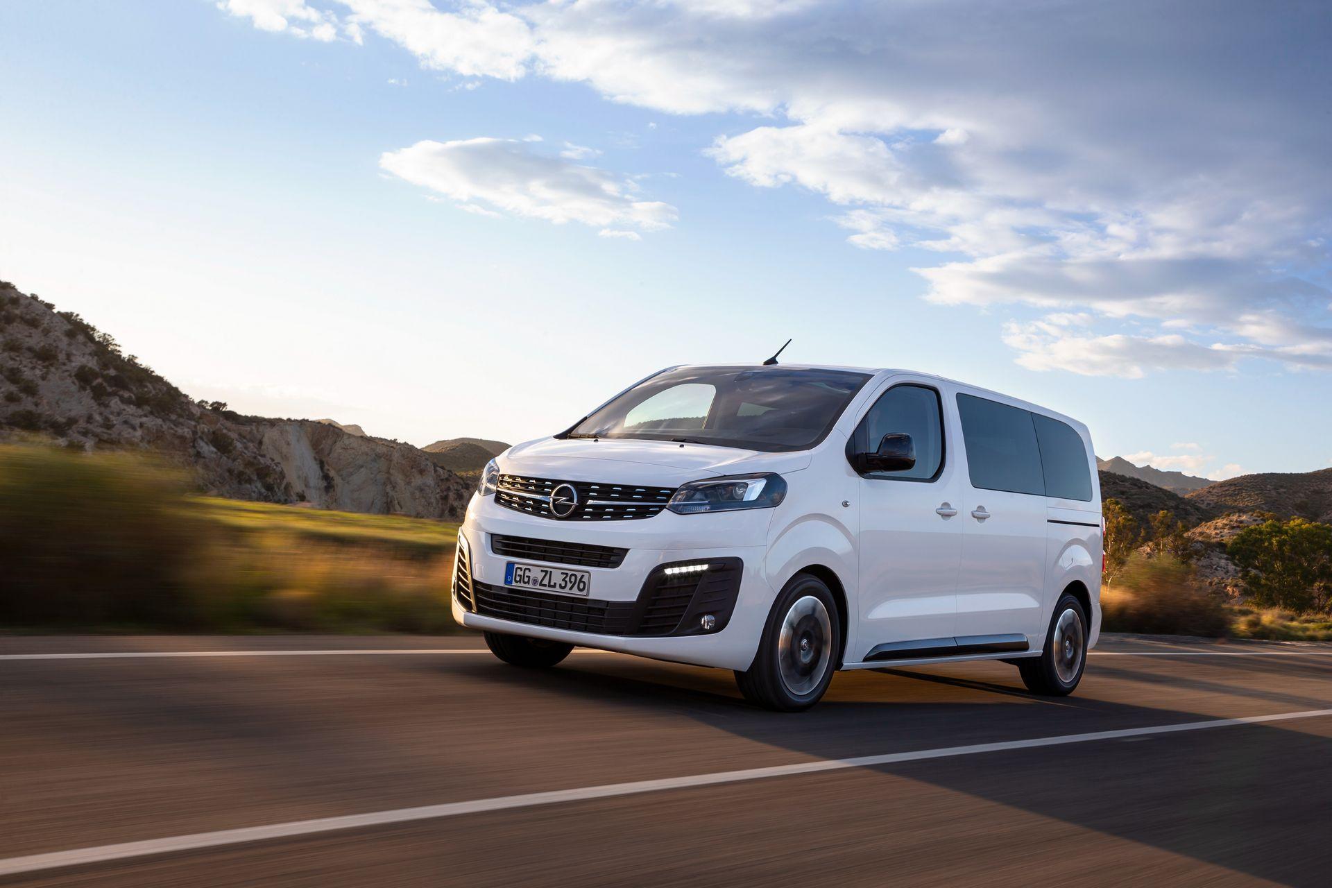 Новата Opel Zafira Life: Четврта генерација за бенчмаркот