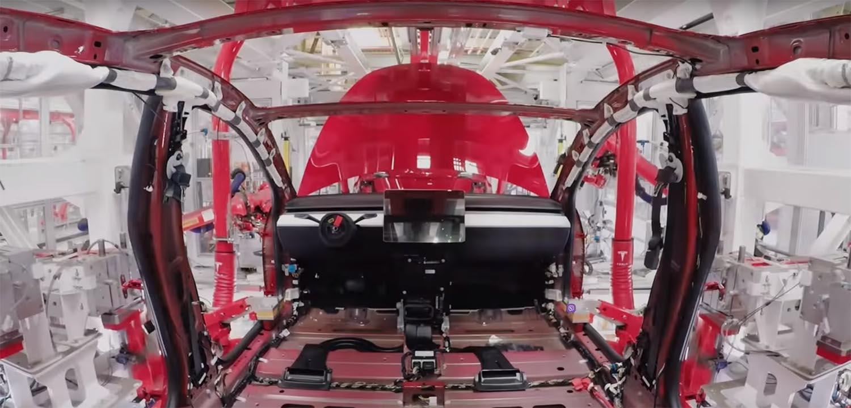 Како се произведува Tesla Model 3 / ВИДЕО