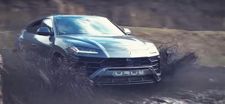 Валентино Балбони и Lamborghini Urus во авантура надвор од патот / ВИДЕО