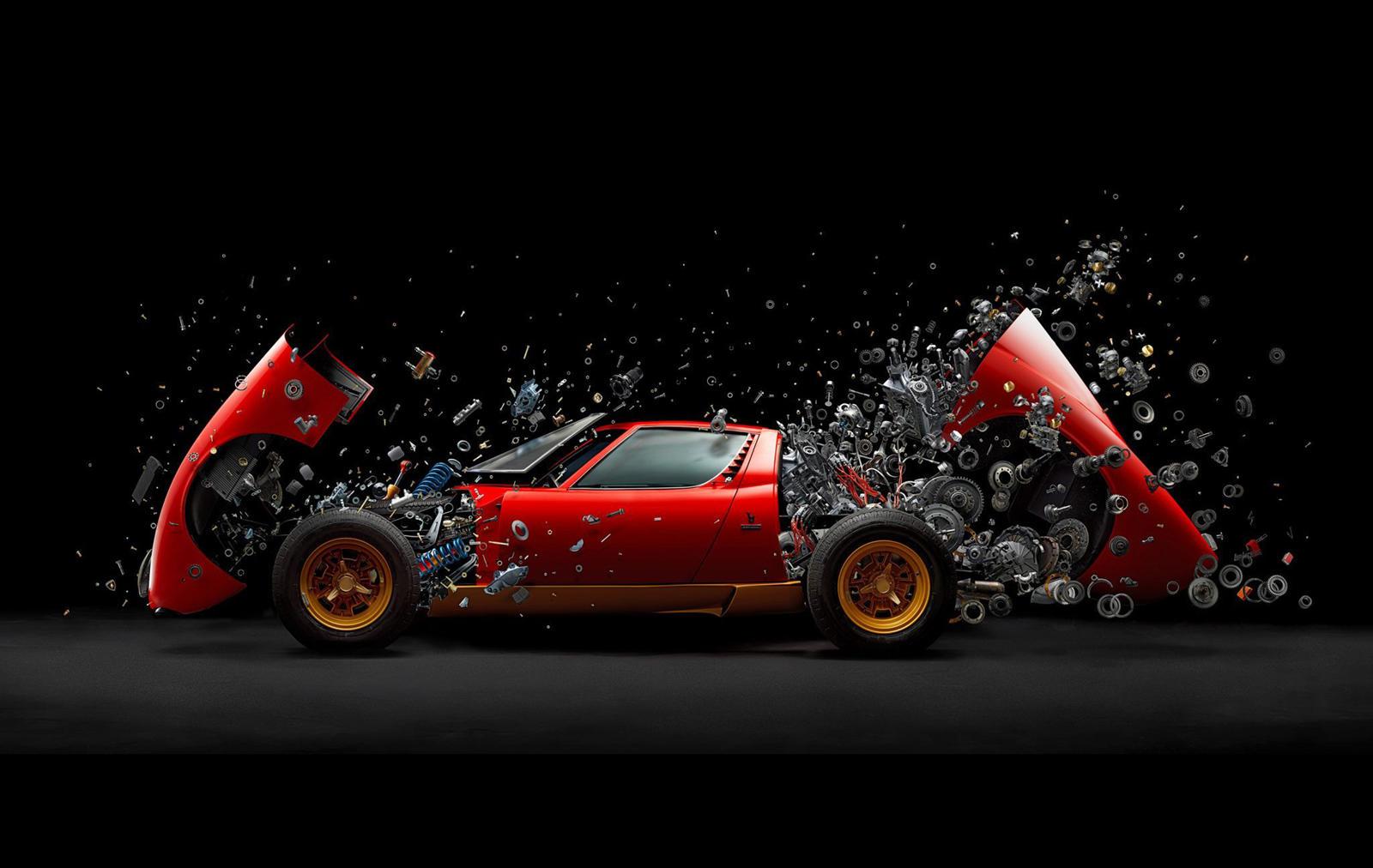 Вакво Lamborghini Miura не сте виделе никогаш! / ФОТО+ВИДЕО