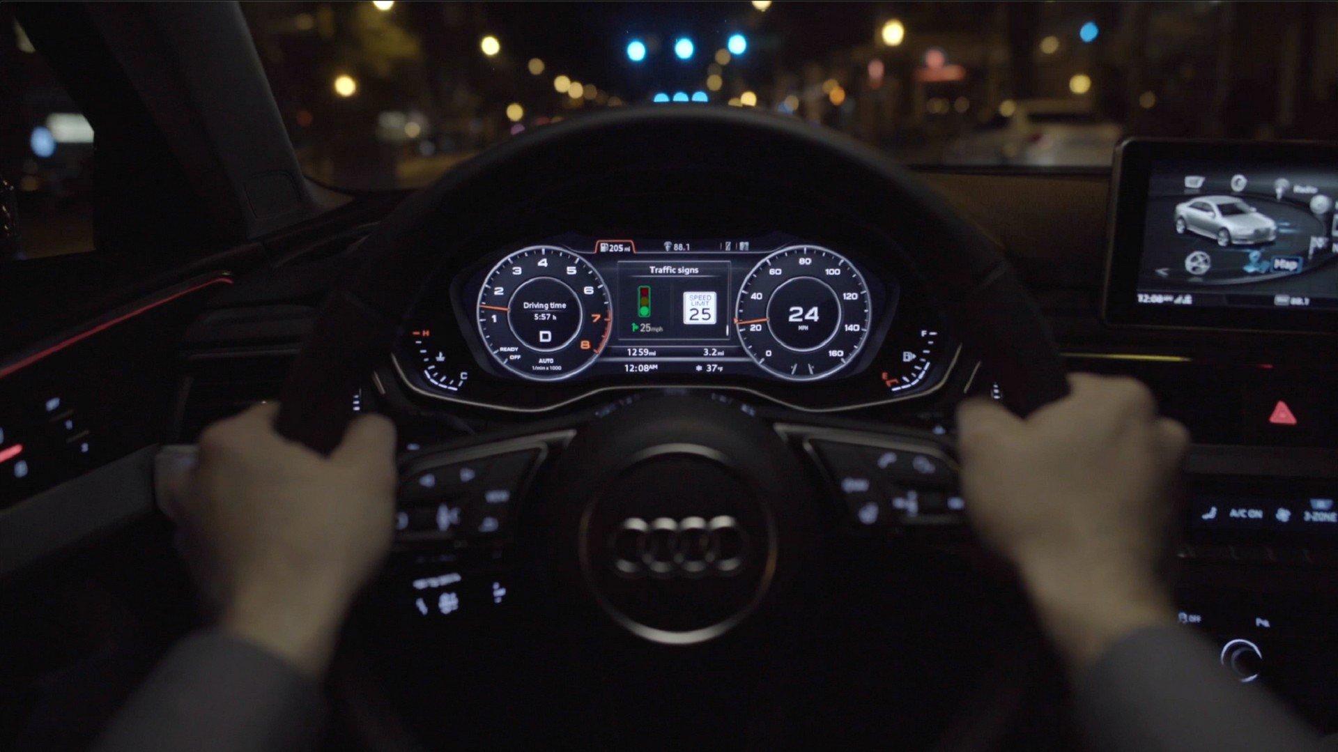Audi им помага на возачите да избегнат чекање на семафори / ВИДЕО