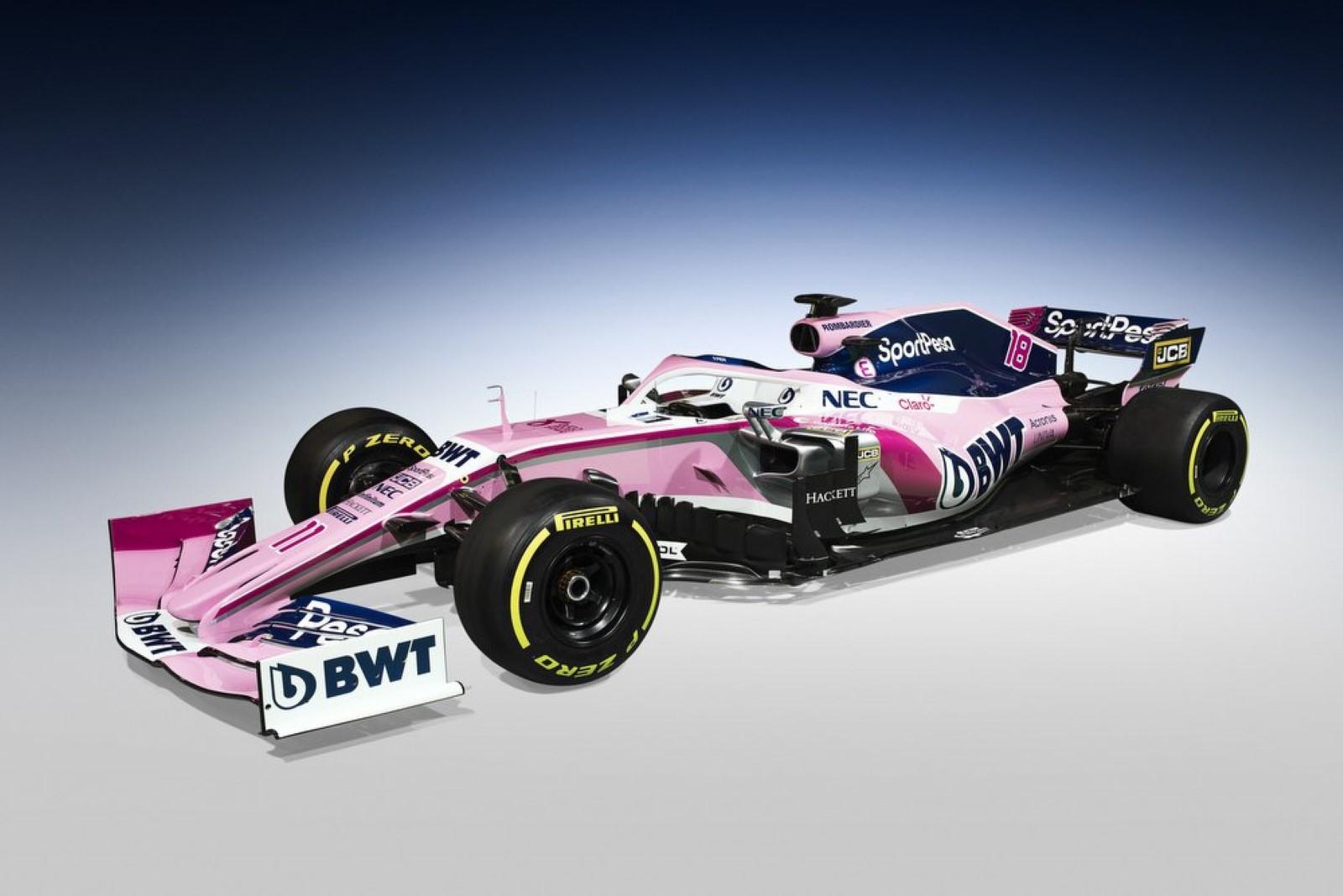 Racing Point екс Force India го претстави болидот за новата сезона