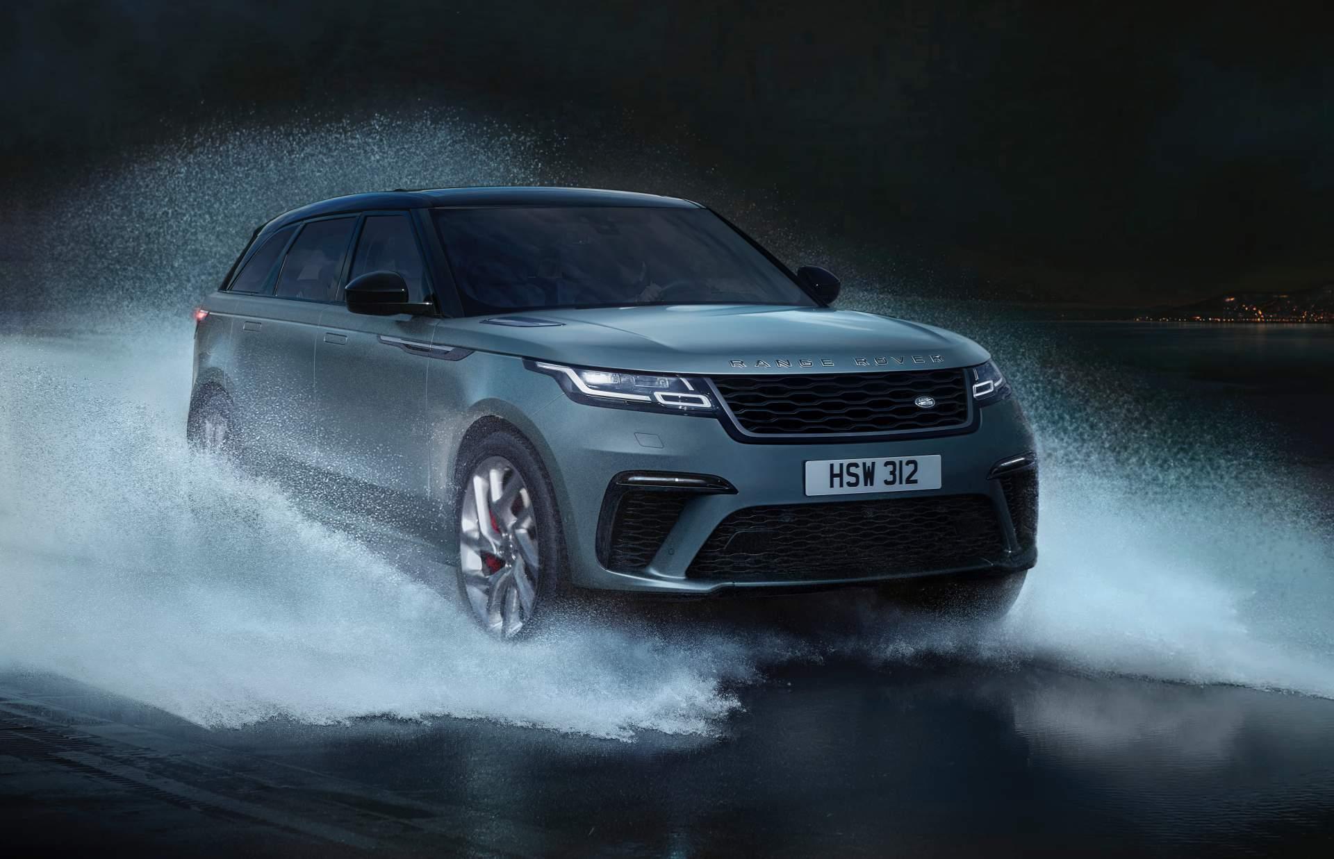 "Најмоќниот Range Rover Velar располага со 550 ""коњи"" и чини 100.000 евра / ВИДЕО"