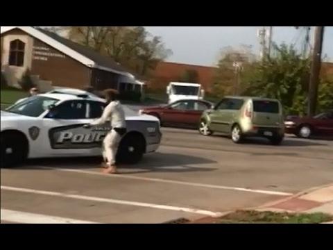 Како се краде полициско возило! КАРАМБОЛ / ВИДЕО