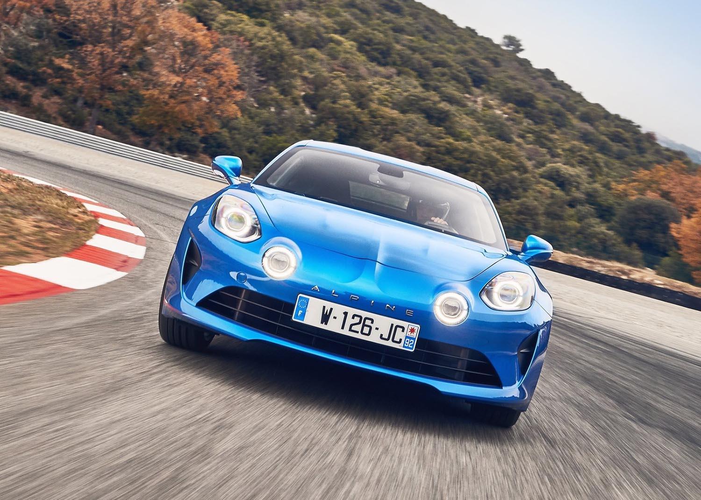 Renault крева раце од Alpine А110?