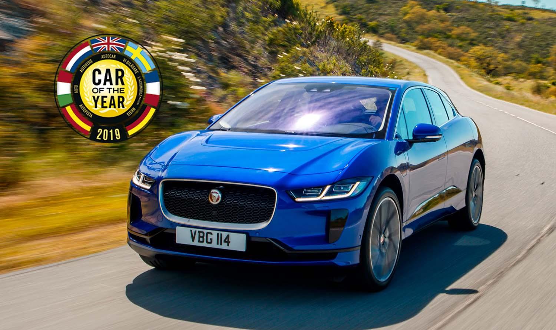 Eвропски автомобил за 2019 година е Jaguar I-Pace