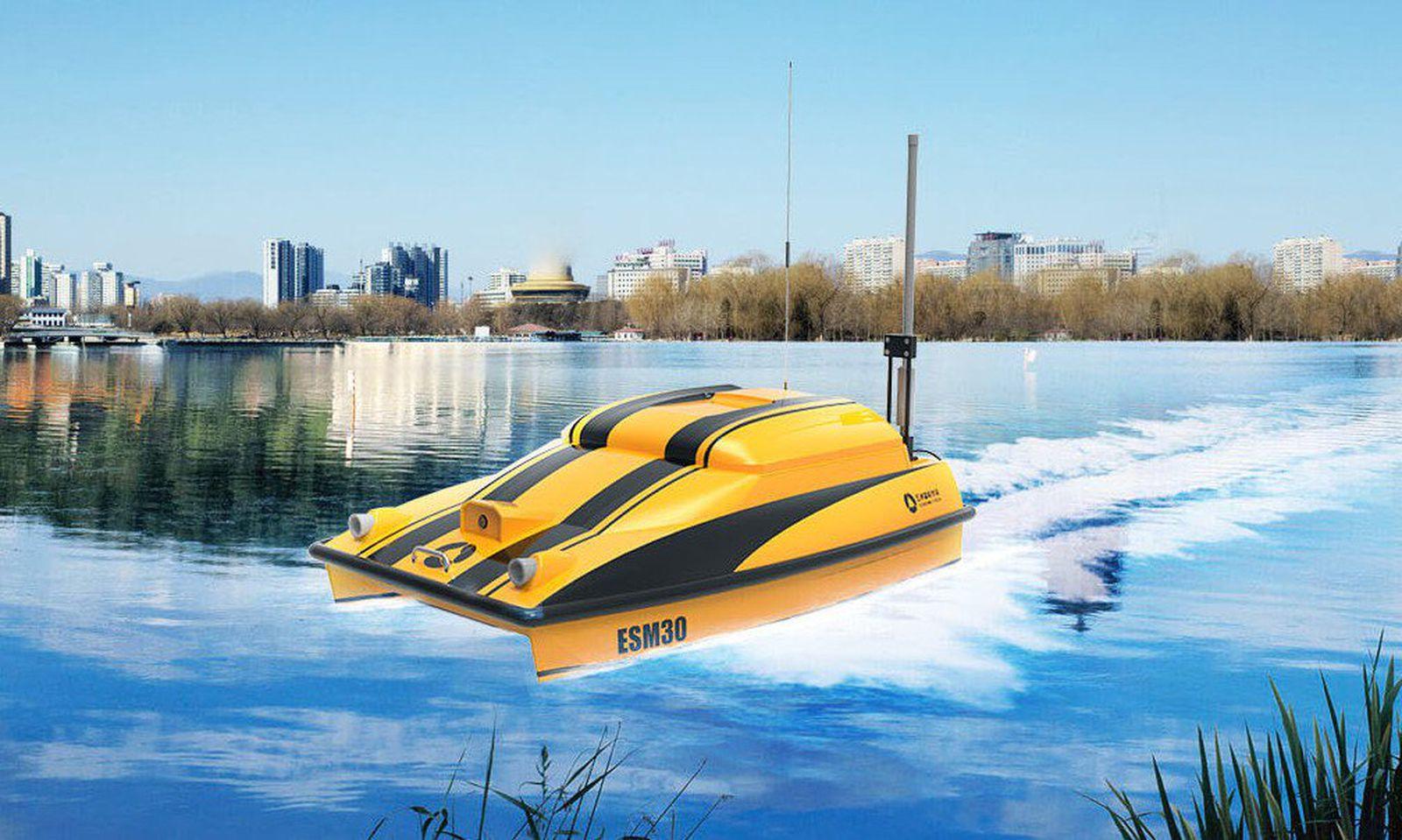 На Mobile World Congress претставен автономен брод