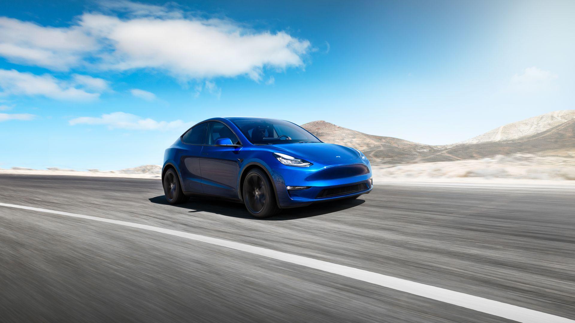 "Со кого ќе бие пазарна ""битка"" Tesla Model Y"