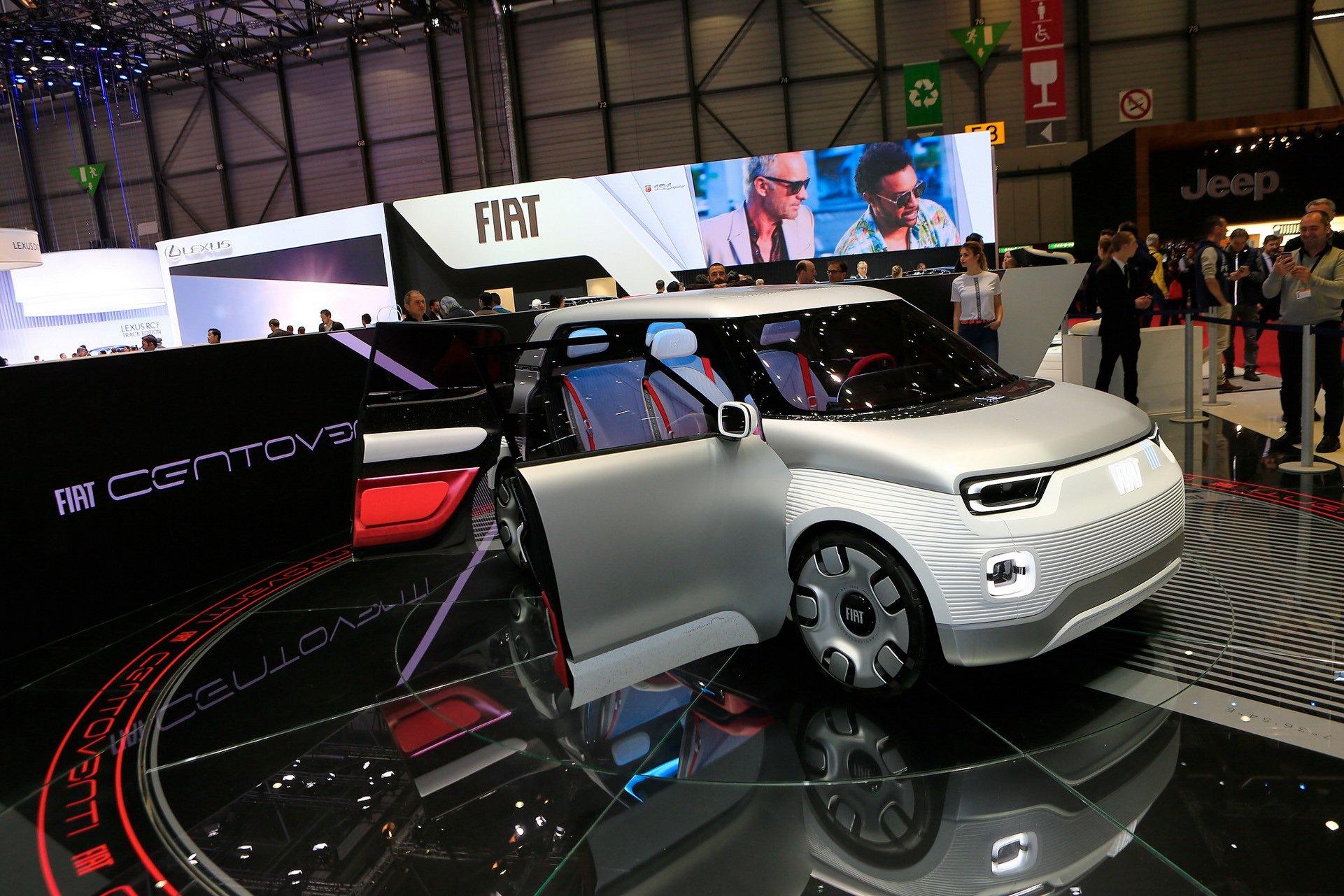 Како лего коцки: Fiat Centoventi ja најави новата Panda