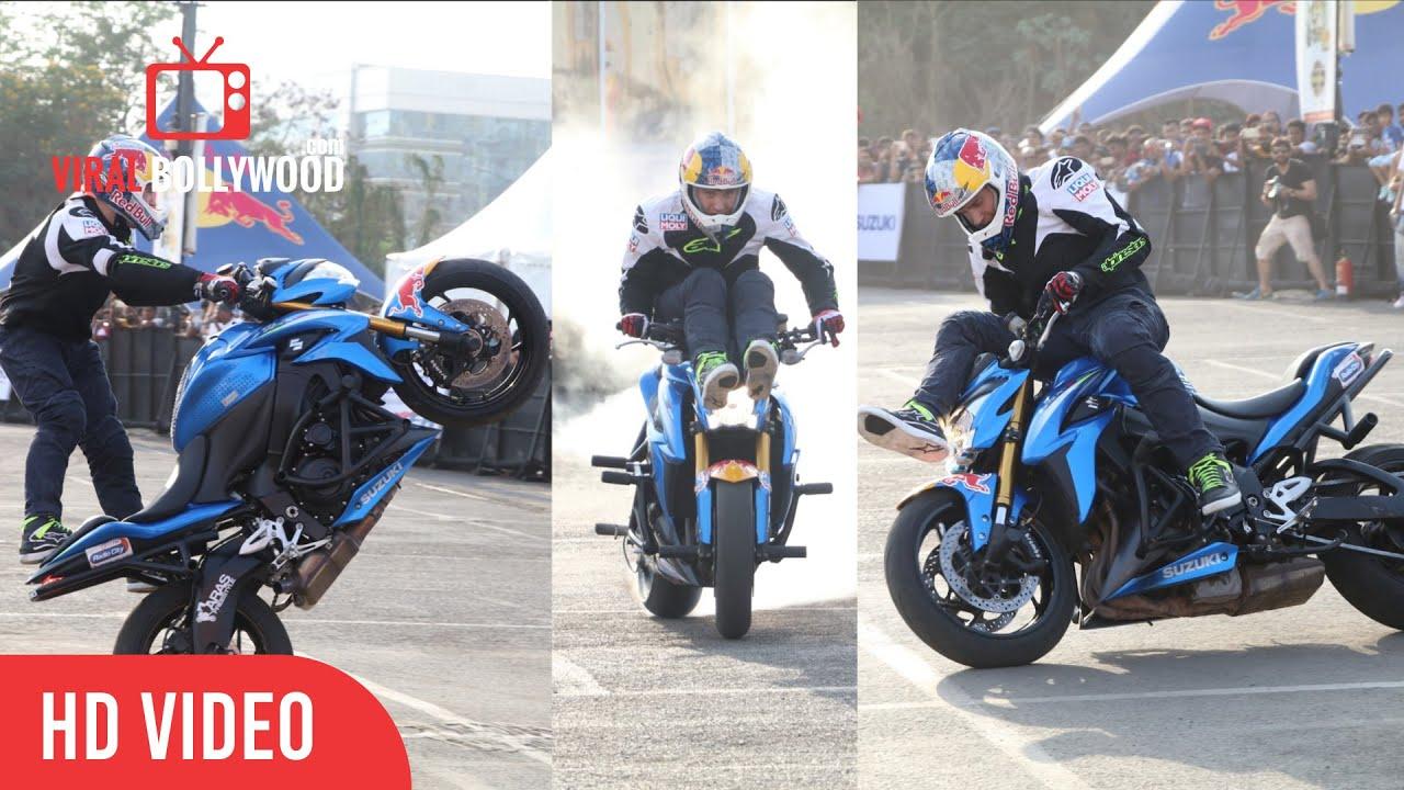 Најопасните трикови на мотоцикл КАРАМБОЛ / ВИДЕО