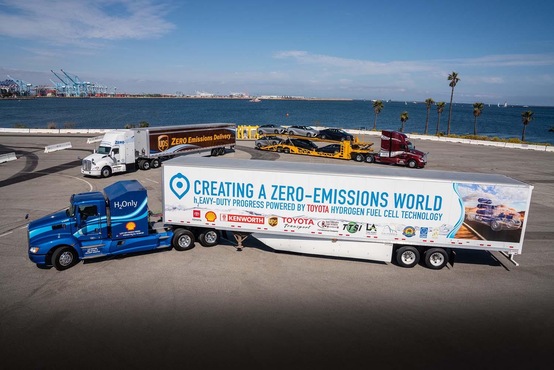 Toyota претстави унапреден камион на водороден погон / ВИДЕО