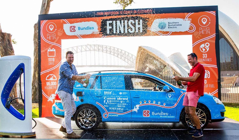 По 3 години, завршено најдолгото патување со електричен автомобил