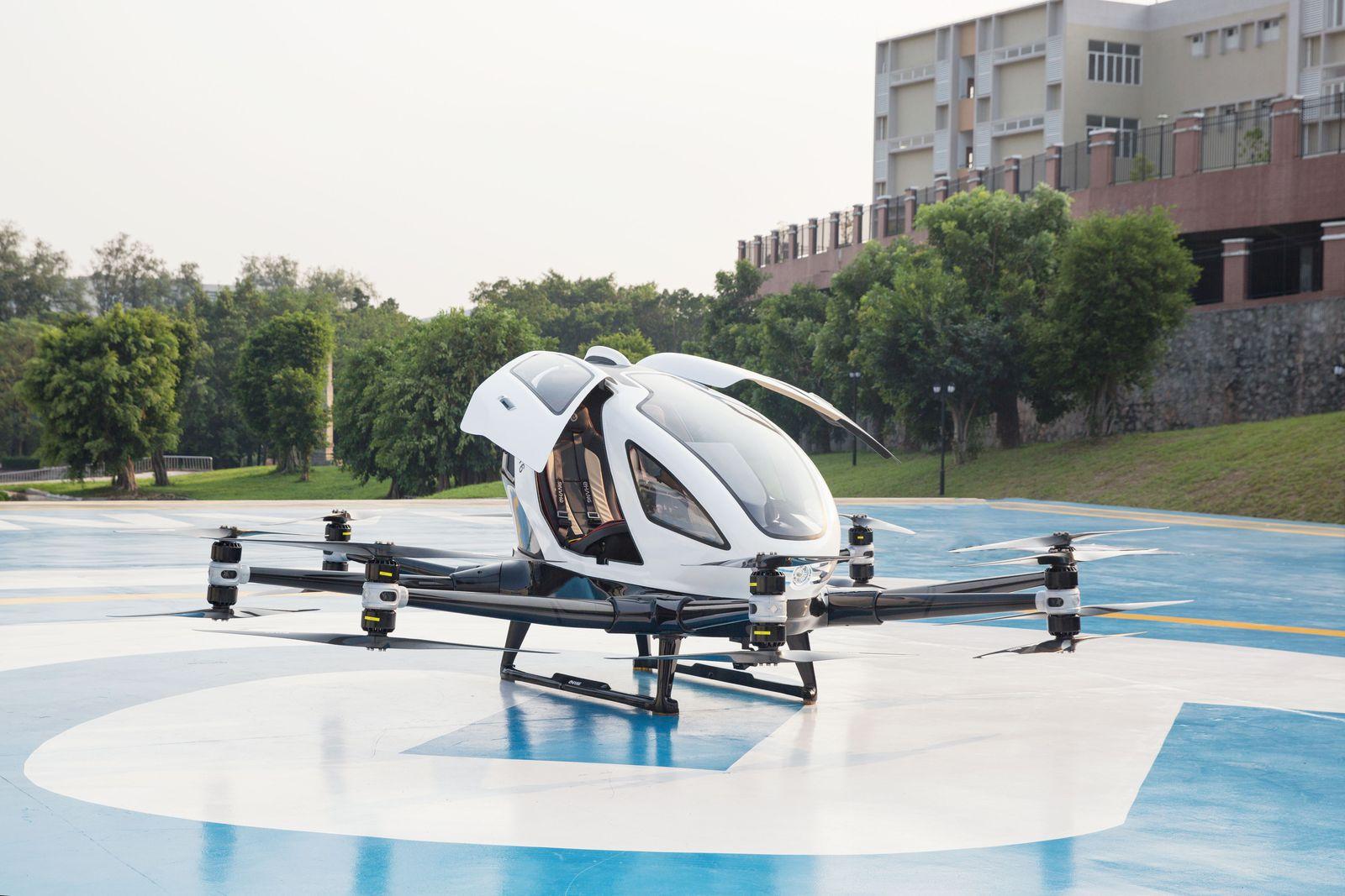 Виенчани имаа можност да испробаат беспилотно такси летало / ВИДЕО
