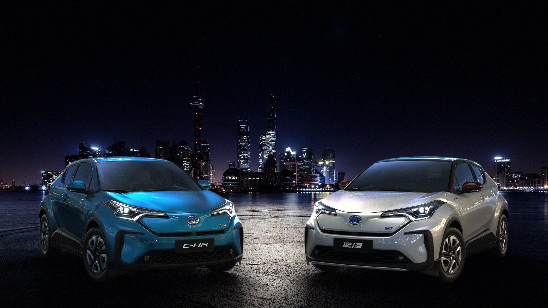Деби за електричната Toyota C-HR