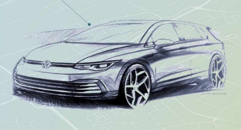 Vоlkswagen ја разоткри внатрешноста на VW Golf 8 / ФОТО