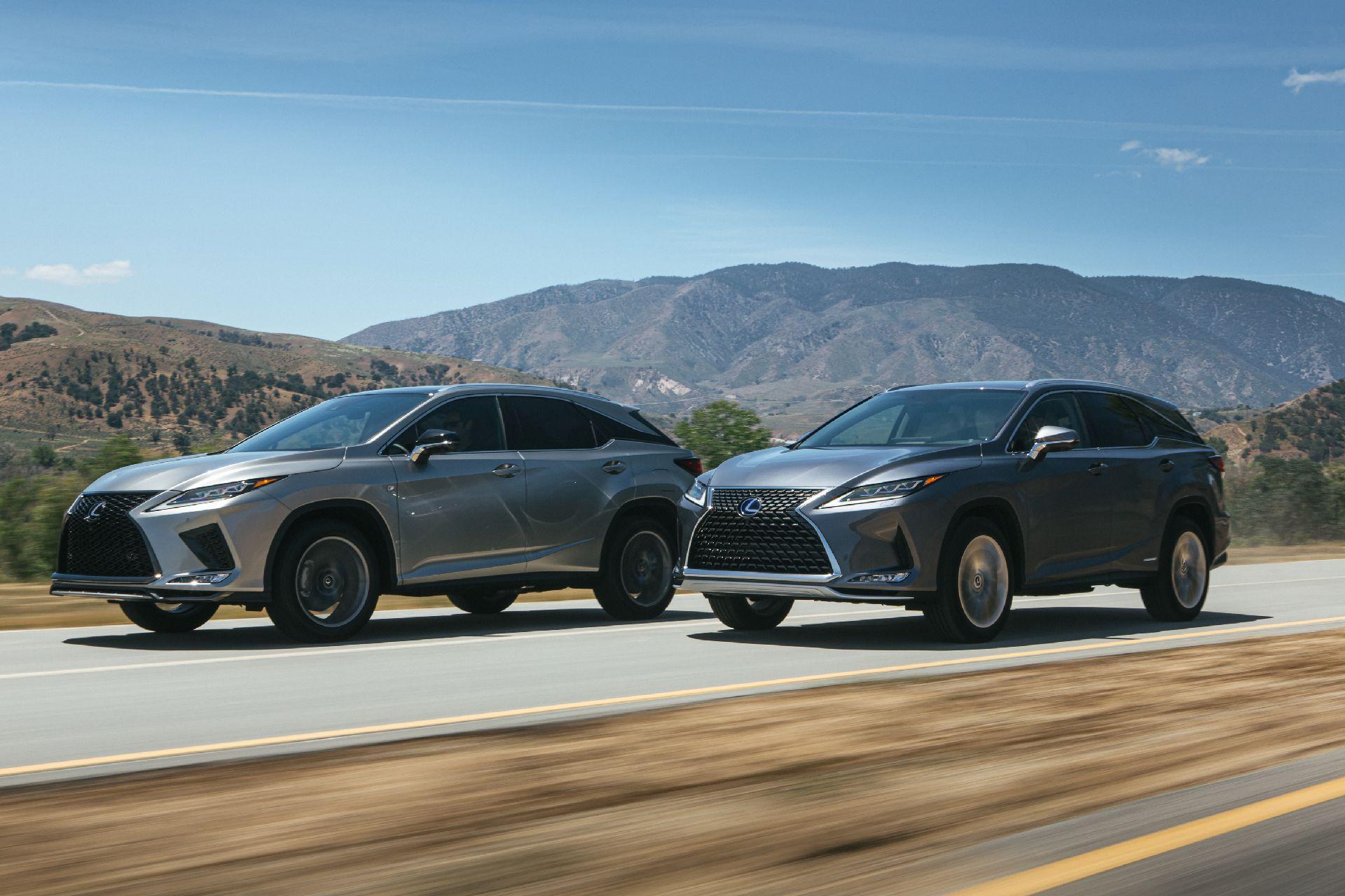 Освежување за Lexus RX (2020)