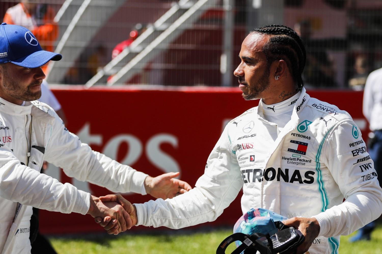 Ботас со најдобра стартна позиција во трката за ГН на Шпанија / ВИДЕО
