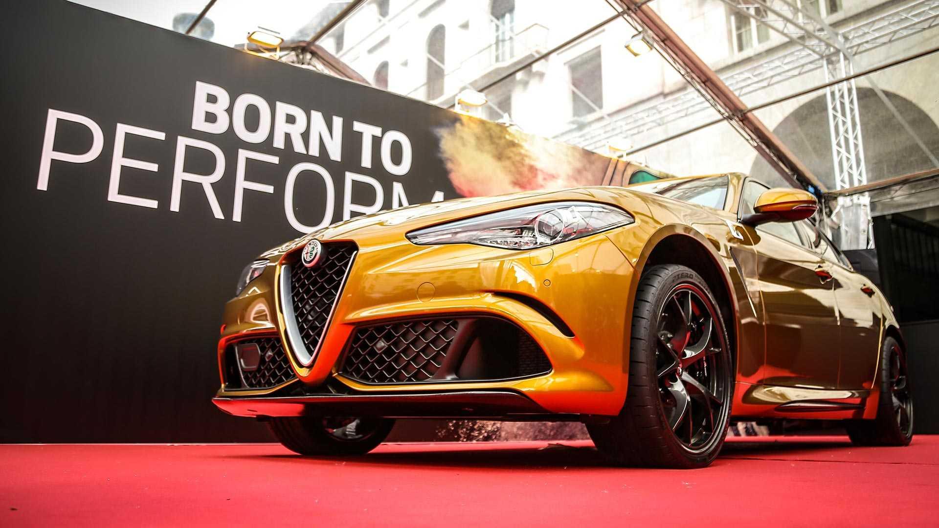Специјално издание на Alfa Romeo Giulia Quadrifoglio за Mille Miglia