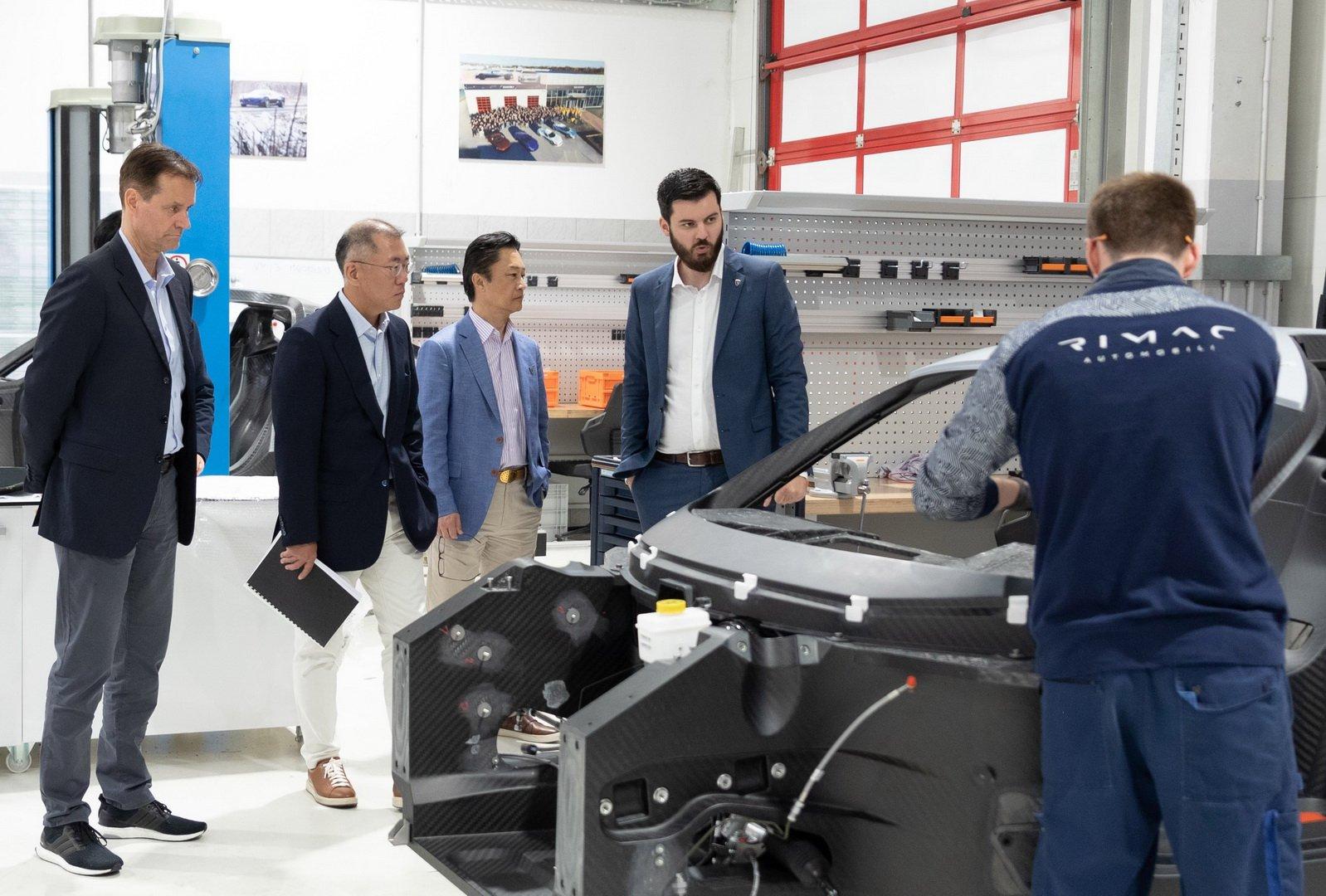 Hyundai и Kia ќе инвестираат во Rimac