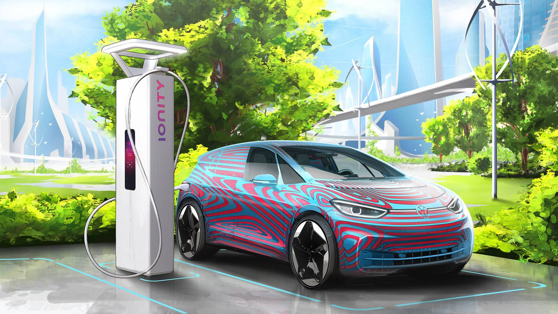 Електрична офанзива на Volkswagen – 36.000 полначи низ цела Европа до 2025 година