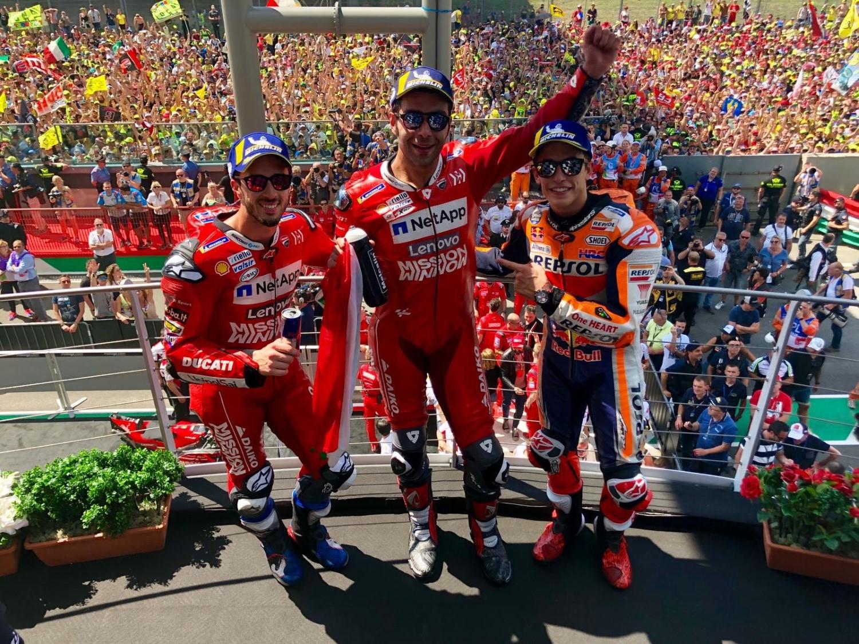 MotoGP: Прва победа за Петручи!