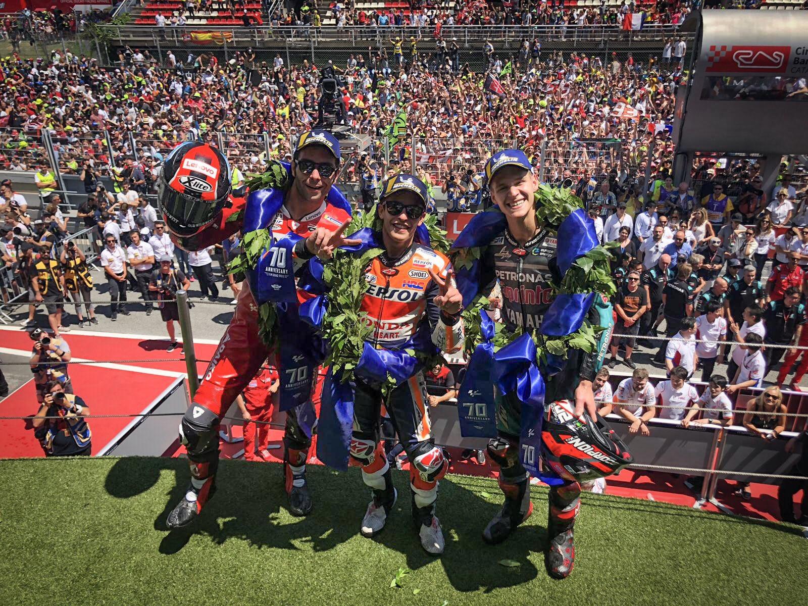 MotoGP: Лесна победа за Маркез по карамболот на Лоренцo / ВИДЕО