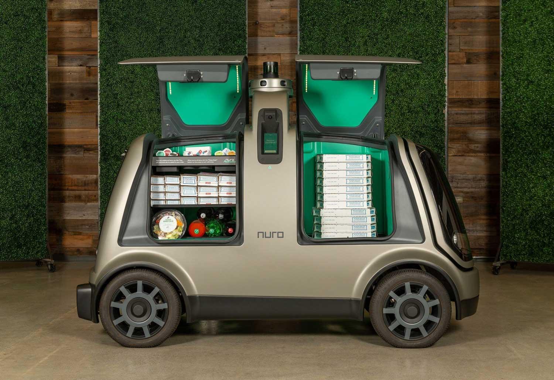 Иднината тропа на портата – автомобили без возач ќе разнесуваат пици