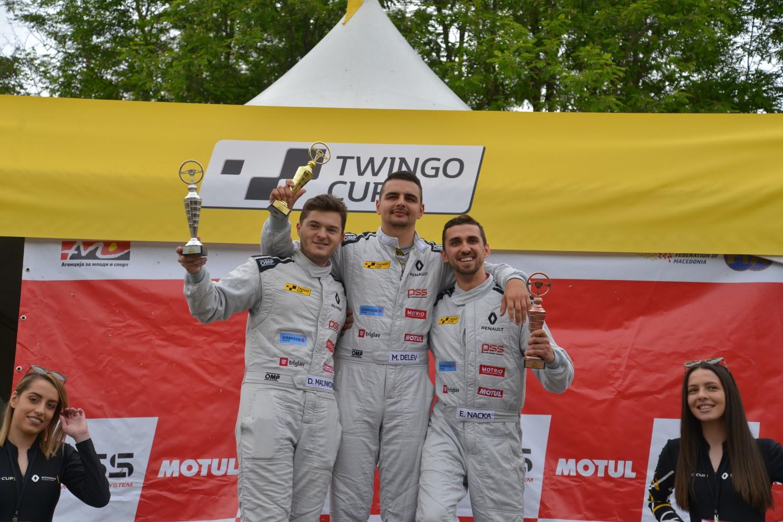 Втора трка и втора победа за Мартин Делев на TWINGO CUP
