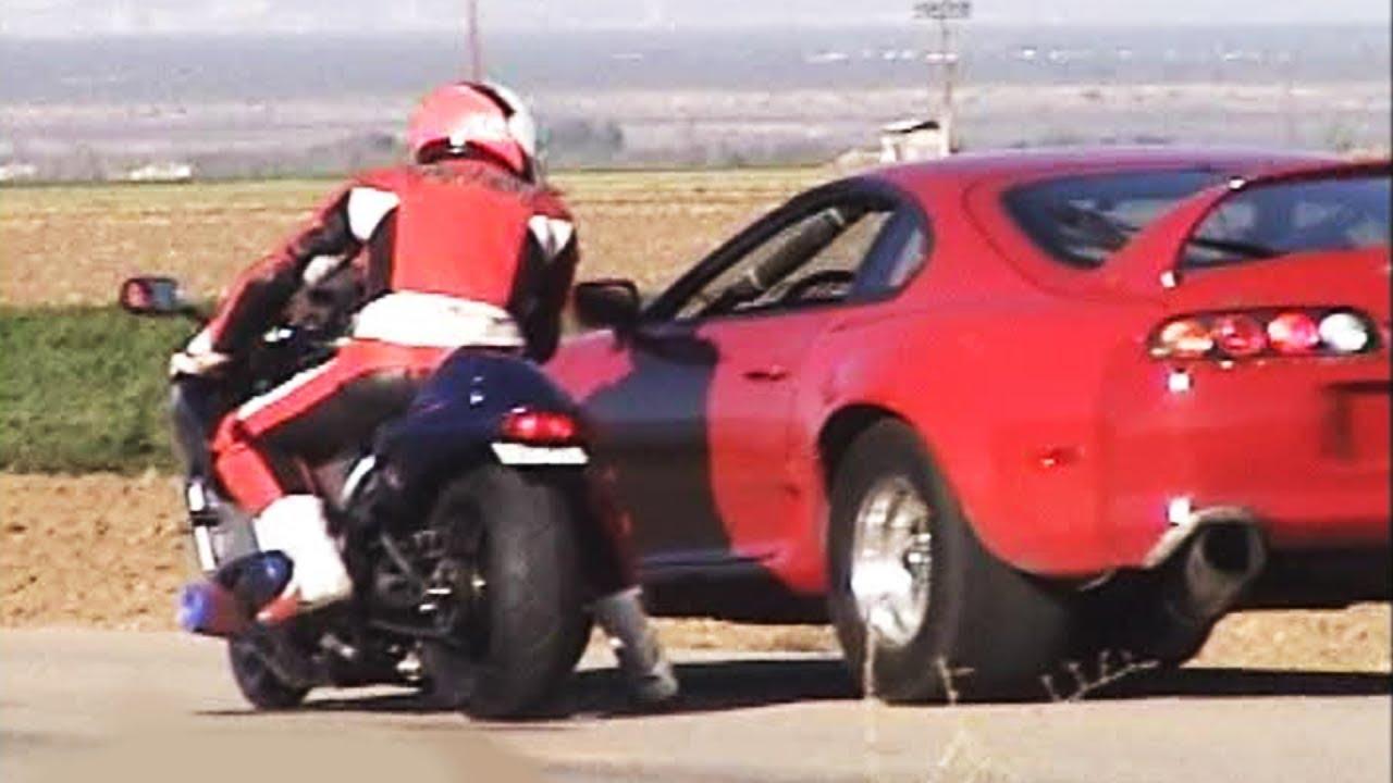 Автомобили VS мотоцикли КАРАМБОЛ / ВИДЕО