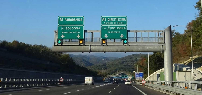 Италија ќе експериментира со 150 km/h на автопат