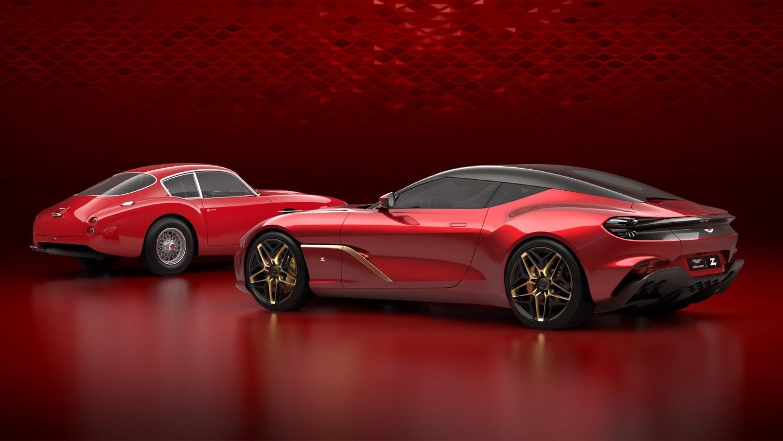 Aston Martin DBS GT Zagato и DB4 GT Zagato