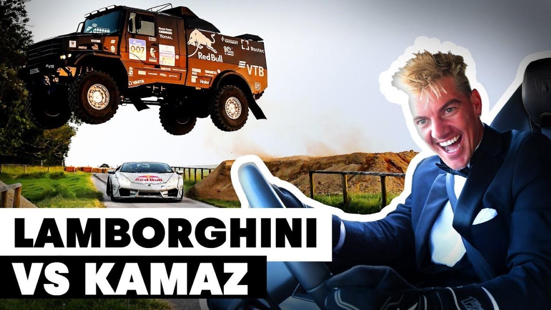 Kamaz против Lamborghini Huracan / ВИДЕО