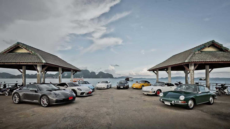 Porsche 911: Осум генерации на едно место /ВИДЕО