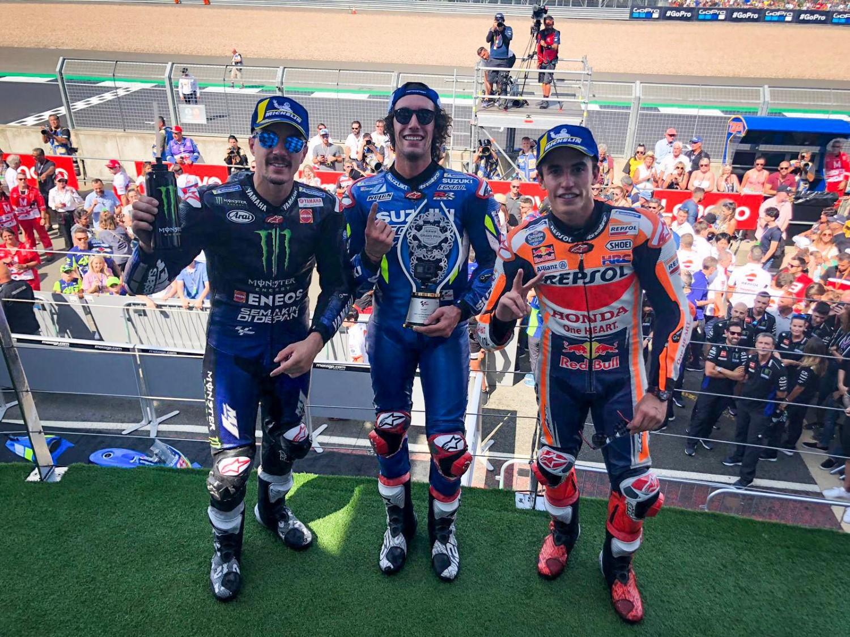 """MotoGP: Ринс му ја """"украде"""" победата на Маркез на Силверстон"""