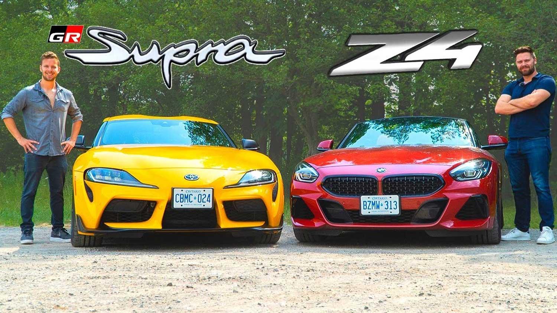 Кој е подобар – Toyota Supra или BMW Z4? / ВИДЕО