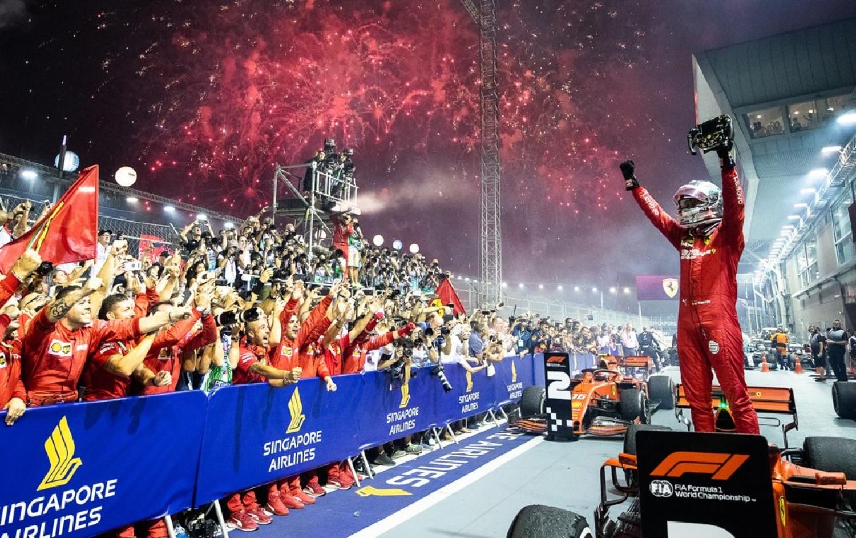 Formula 1: Еден-два победа за Ferrari во Сингапур / ФОТО+ВИДЕО