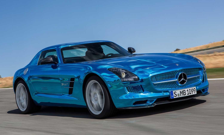 Mercedes-AMG го планира својот прв електричен модел