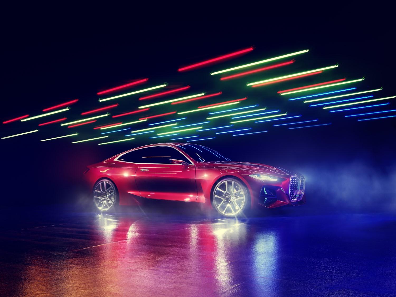 """Атрактивен """"спортист"""": премиера за BMW Concept 4 / ФОТО"""
