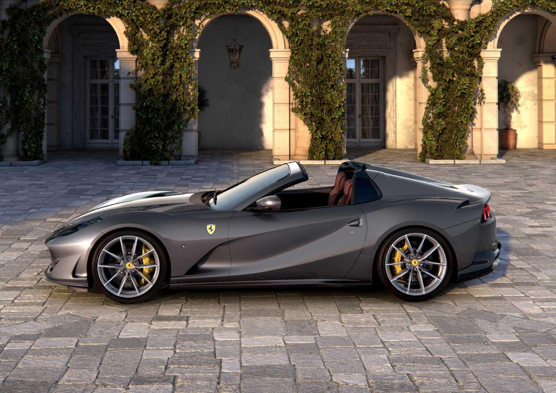 """Две """"бомби"""" од Ferrari: F8 Spider и 812 GTS / ФОТО+ВИДЕО"""