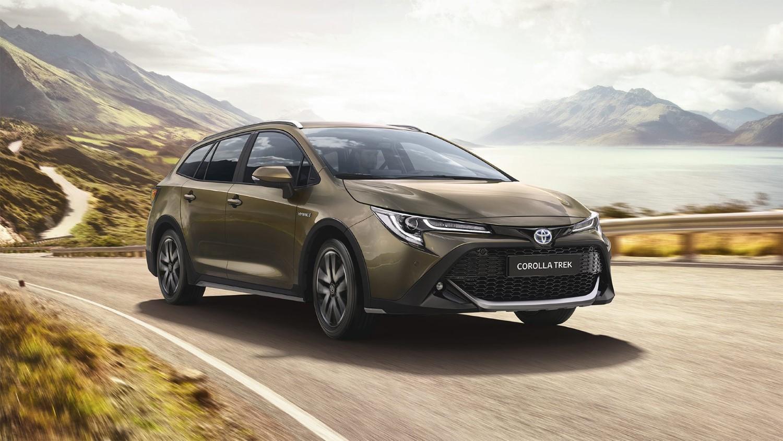 Toyota Corolla Trek: за оние кои сакаат повремени теренски излети